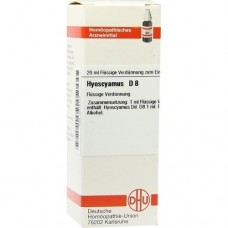 HYOSCYAMUS D 8 Dilution 20 ml