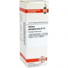 KALIUM PHOSPHORICUM D 12 Dilution 20 ml