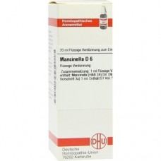 MANCINELLA D 6 Dilution 20 ml