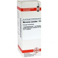 MERCURIUS CYANATUS D 6 Dilution 20 ml