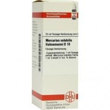 MERCURIUS SOLUBILIS Hahnemanni D 10 Dilution 20 ml