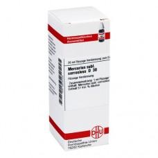 MERCURIUS SUBLIMATUS corrosivus D 30 Dilution 20 ml