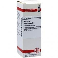 NATRIUM CHLORATUM D 2 Dilution 20 ml