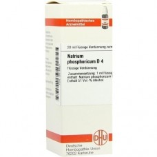 NATRIUM PHOSPHORICUM D 4 Dilution 20 ml