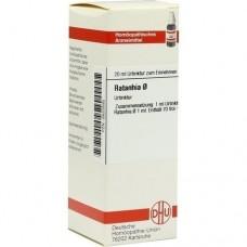 RATANHIA Urtinktur D 1 20 ml