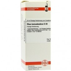 RHUS TOXICODENDRON D 30 Dilution 50 ml