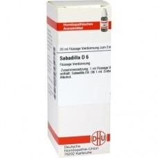 SABADILLA D 6 Dilution 20 ml