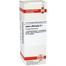 SALVIA OFFICINALIS D 1 Dilution 20 ml