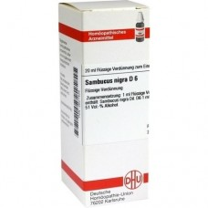 SAMBUCUS NIGRA D 6 Dilution 20 ml