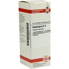 STAPHISAGRIA D 12 Dilution 20 ml
