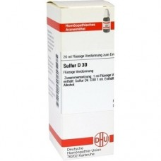 SULFUR D 30 Dilution 20 ml
