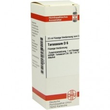 TARAXACUM D 6 Dilution 20 ml