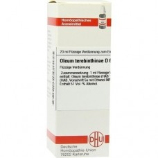 OLEUM TEREBINTHINAE D 6 Dilution 20 ml