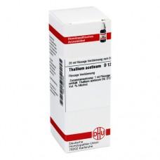 THALLIUM ACETICUM D 12 Dilution 20 ml