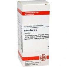 AESCULUS D 6 Tabletten 80 St
