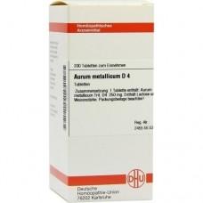 AURUM METALLICUM D 4 Tabletten 200 St