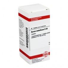 AURUM METALLICUM D 30 Tabletten 80 St