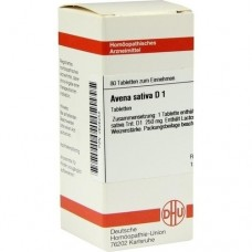 AVENA SATIVA D 1 Tabletten 80 St