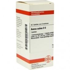 AVENA SATIVA D 6 Tabletten 80 St