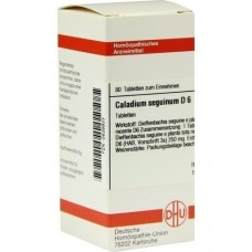 CALADIUM seguinum D 6 Tabletten 80 St