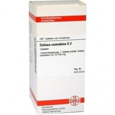 DATISCA cannabina D 2 Tabletten 200 St