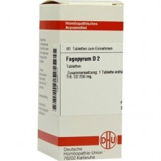 FAGOPYRUM D 2 Tabletten 80 St