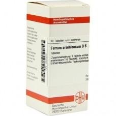 FERRUM ARSENICOSUM D 6 Tabletten 80 St