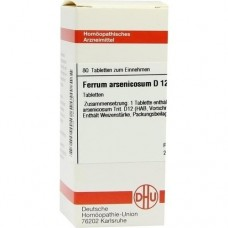FERRUM ARSENICOSUM D 12 Tabletten 80 St