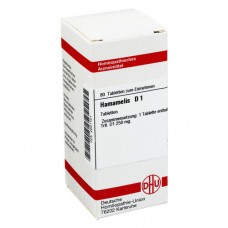HAMAMELIS D 1 Tabletten 80 St