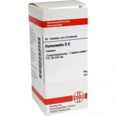 HAMAMELIS D 6 Tabletten 80 St