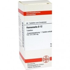 HAMAMELIS D 12 Tabletten 80 St