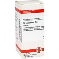 STROPHANTHUS D 6 Tabletten 80 St