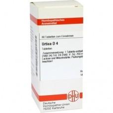 URTICA D 4 Tabletten 80 St