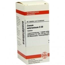 ZINCUM VALERIANICUM D 30 Tabletten 80 St