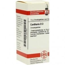 CANTHARIS D 3 Globuli 10 g