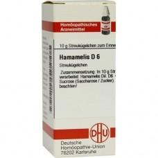 HAMAMELIS D 6 Globuli 10 g