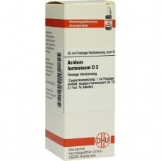 ACIDUM FORMICICUM D 3 Dilution 20 ml