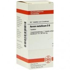 AURUM METALLICUM D 8 Tabletten 80 St