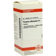 PAEONIA OFFICINALIS D 4 Tabletten 80 St