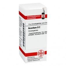 ACONITUM D 2 Globuli 10 g