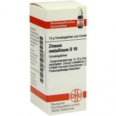 ZINCUM METALLICUM D 10 Globuli 10 g