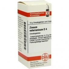 ZINCUM VALERIANICUM D 4 Globuli 10 g