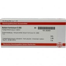ACIDUM FORMICICUM D 200 Ampullen 10X1 ml