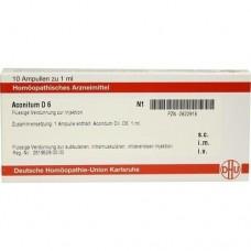 ACONITUM D 6 Ampullen 10X1 ml