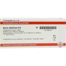 AURUM METALLICUM D 8 Ampullen 10X1 ml