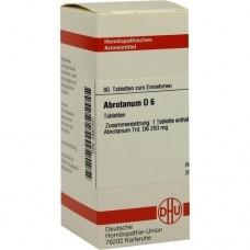 ABROTANUM D 6 Tabletten 80 St