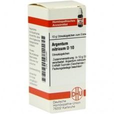 ARGENTUM NITRICUM D 10 Globuli 10 g