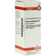 AURUM METALLICUM D 6 Dilution 20 ml