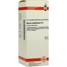 AURUM METALLICUM D 6 Dilution 50 ml