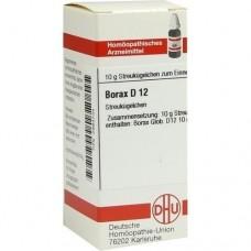 BORAX D 12 Globuli 10 g
